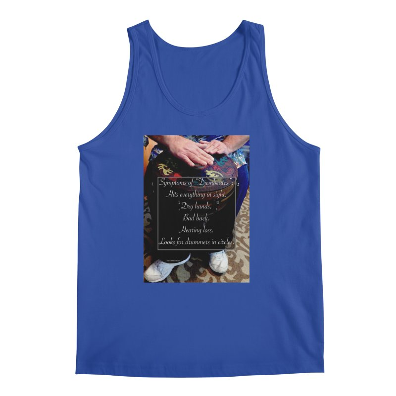 Djembeates Men's Regular Tank by EdHartmanMusic Swag Shop!