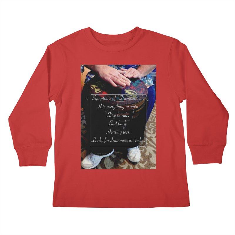 Djembeates Kids Longsleeve T-Shirt by EdHartmanMusic Swag Shop!