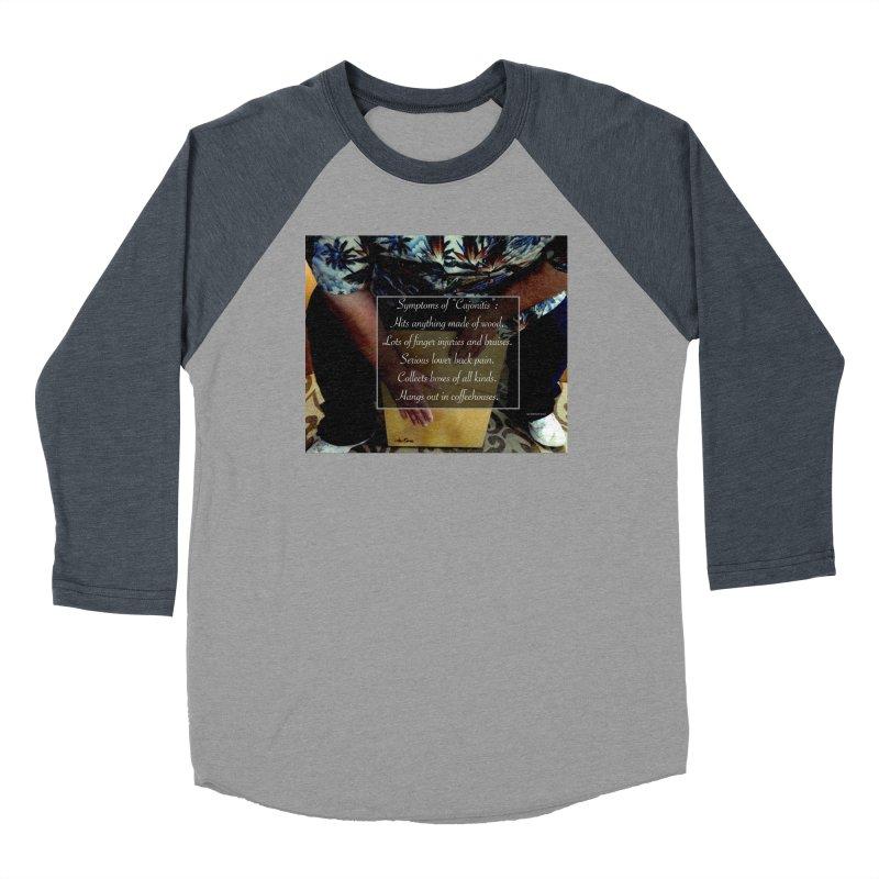 "Symptoms of ""Cajonitis"" Women's Longsleeve T-Shirt by EdHartmanMusic Swag Shop!"