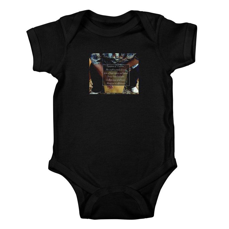 """Symptoms of """"Cajonitis"""" Kids Baby Bodysuit by EdHartmanMusic Swag Shop!"""