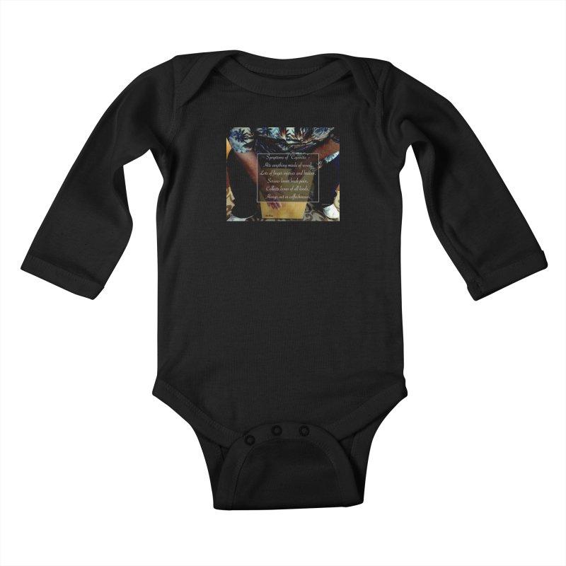 "Symptoms of ""Cajonitis"" Kids Baby Longsleeve Bodysuit by EdHartmanMusic Swag Shop!"