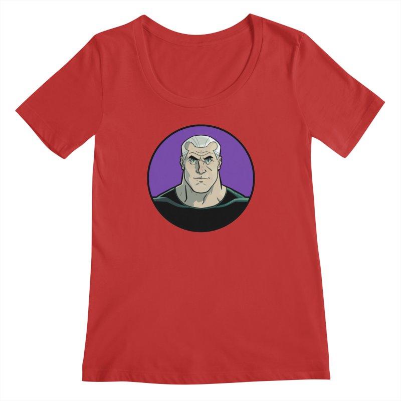 Shirt of Month October: A Man Called Rex Women's Regular Scoop Neck by Edison Rex