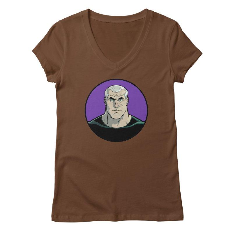 Shirt of Month October: A Man Called Rex Women's V-Neck by edisonrex's Artist Shop