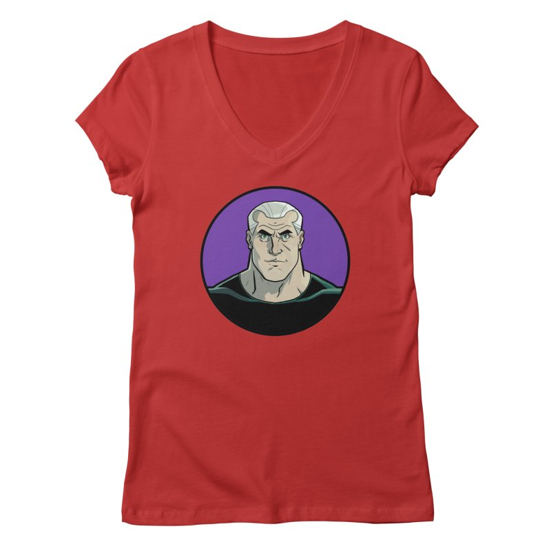 Shirt of Month October: A Man Called Rex Women's Regular V-Neck by edisonrex's Artist Shop