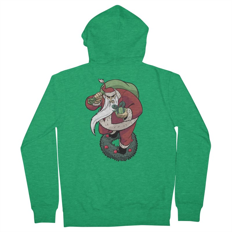 Shirt of the month November: Maul Santa Women's Zip-Up Hoody by edisonrex's Artist Shop