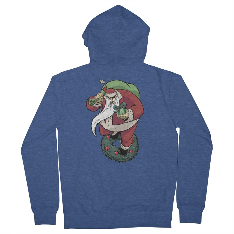 Shirt of the month November: Maul Santa Men's French Terry Zip-Up Hoody by edisonrex's Artist Shop