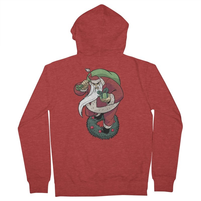 Shirt of the month November: Maul Santa Men's French Terry Zip-Up Hoody by Edison Rex