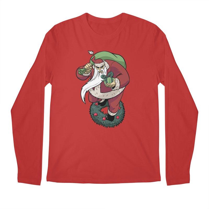 Shirt of the month November: Maul Santa Men's Regular Longsleeve T-Shirt by edisonrex's Artist Shop