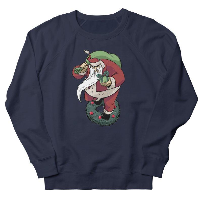 Shirt of the month November: Maul Santa Men's French Terry Sweatshirt by Edison Rex