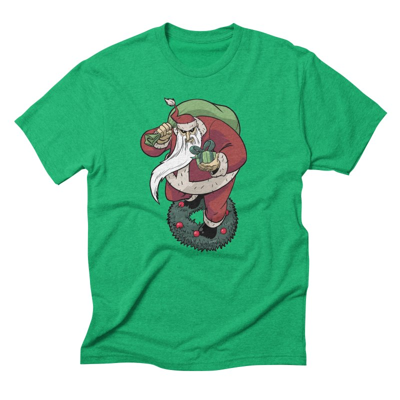 Shirt of the month November: Maul Santa Men's Triblend T-Shirt by Edison Rex