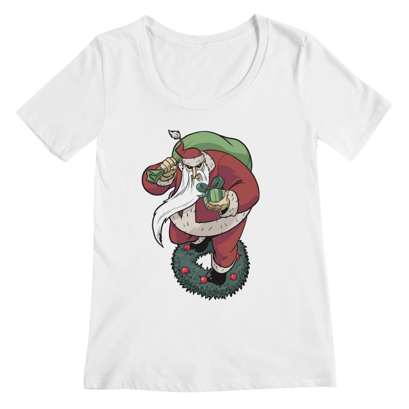 Shirt of the month November: Maul Santa Women's Regular Scoop Neck by Edison Rex