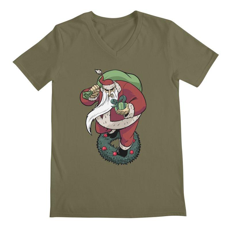 Shirt of the month November: Maul Santa Men's Regular V-Neck by Edison Rex