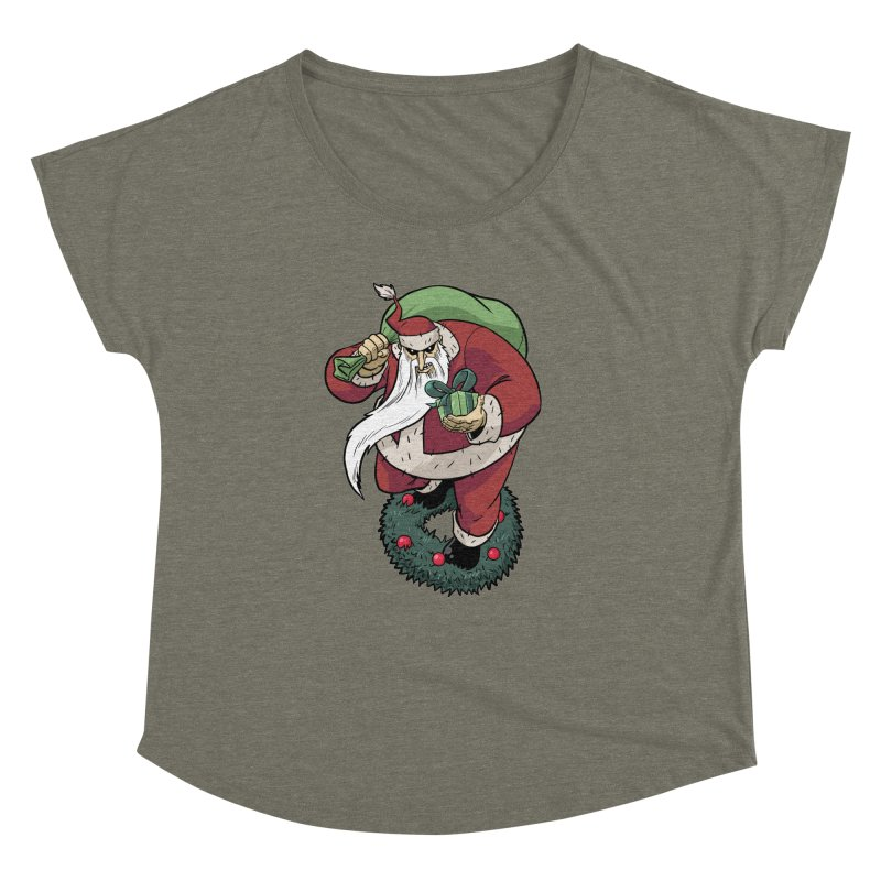 Shirt of the month November: Maul Santa Women's Dolman Scoop Neck by Edison Rex