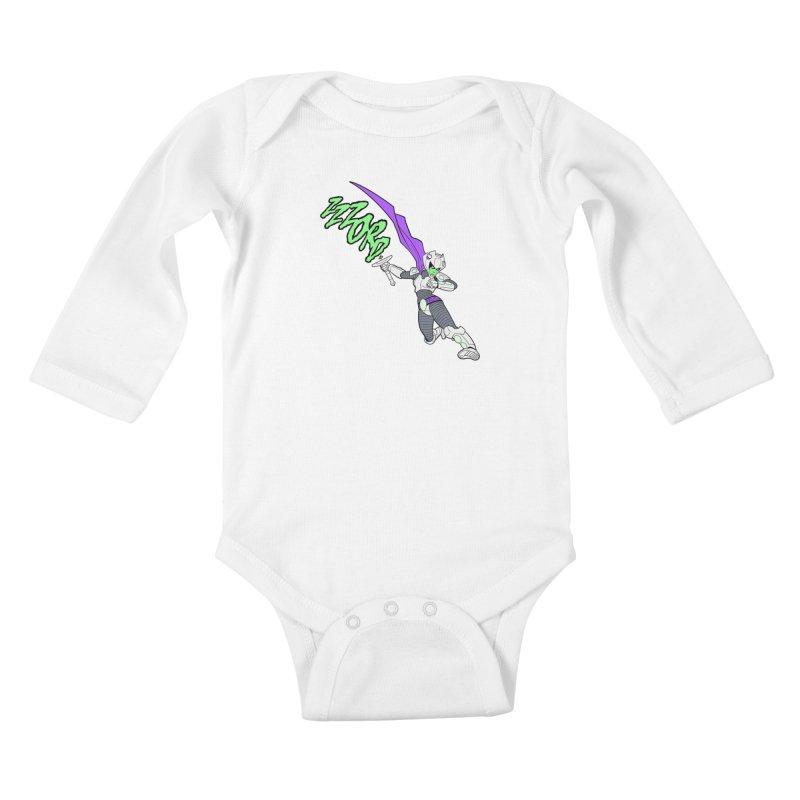Shirt of the Month April Kids Baby Longsleeve Bodysuit by edisonrex's Artist Shop