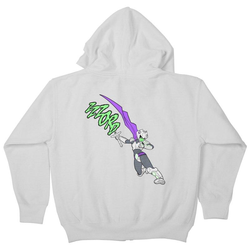 Shirt of the Month April Kids Zip-Up Hoody by edisonrex's Artist Shop