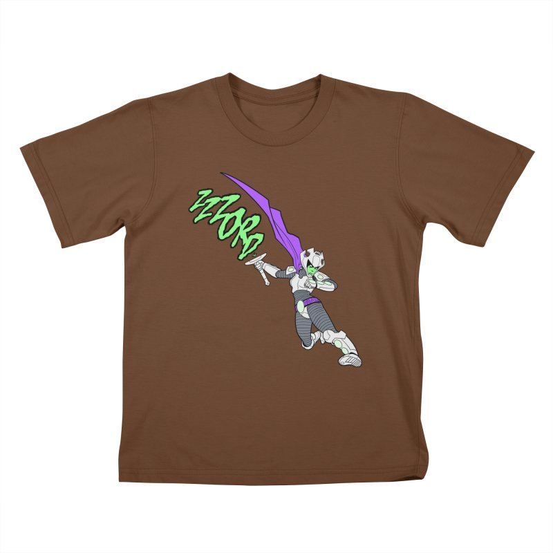 Shirt of the Month April Kids T-Shirt by edisonrex's Artist Shop