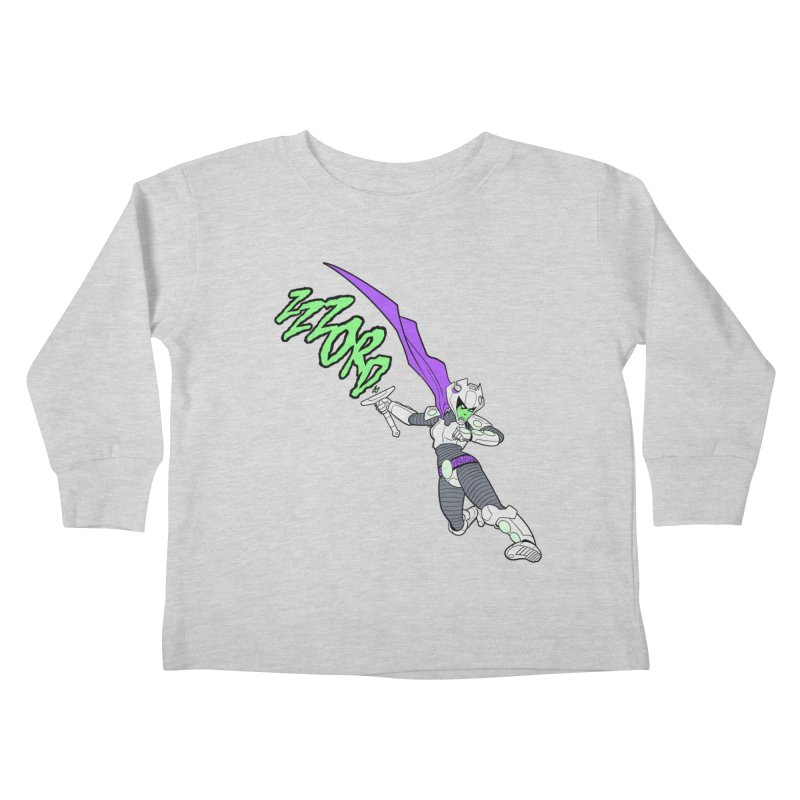 Shirt of the Month April Kids Toddler Longsleeve T-Shirt by Edison Rex