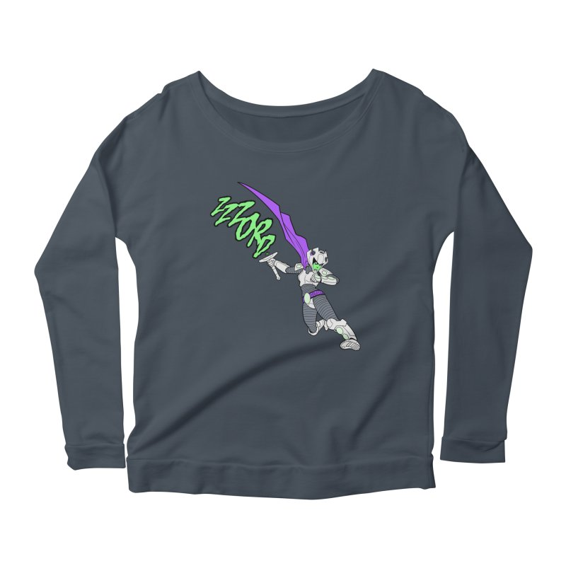 Shirt of the Month April Women's Scoop Neck Longsleeve T-Shirt by Edison Rex