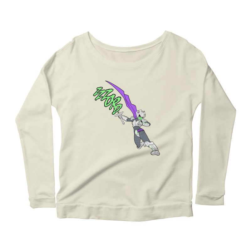 Shirt of the Month April Women's Scoop Neck Longsleeve T-Shirt by edisonrex's Artist Shop