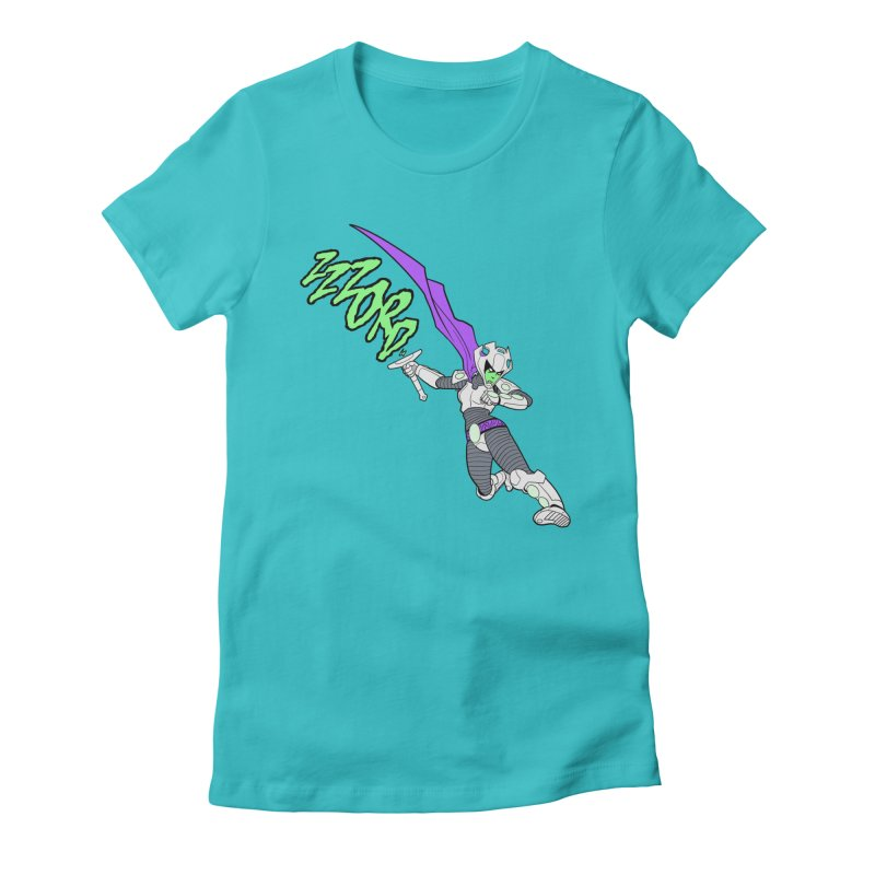 Shirt of the Month April Women's Fitted T-Shirt by edisonrex's Artist Shop
