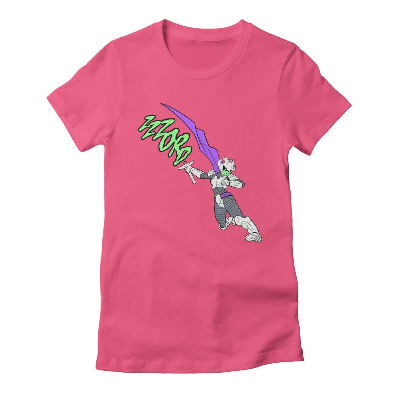 Shirt of the Month April Women's Fitted T-Shirt by Edison Rex