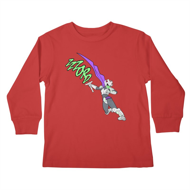 Shirt of the Month April Kids Longsleeve T-Shirt by Edison Rex