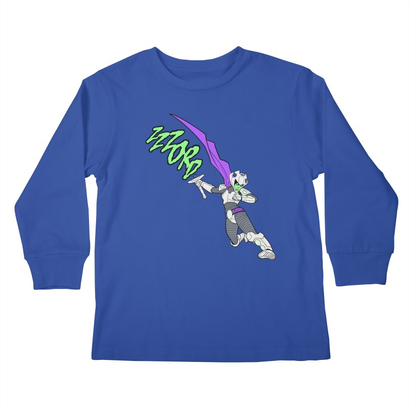 Shirt of the Month April Kids Longsleeve T-Shirt by edisonrex's Artist Shop