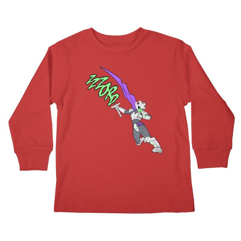 Shirt of the Month April Kids Longsleeve T-Shirt by Edison Rex
