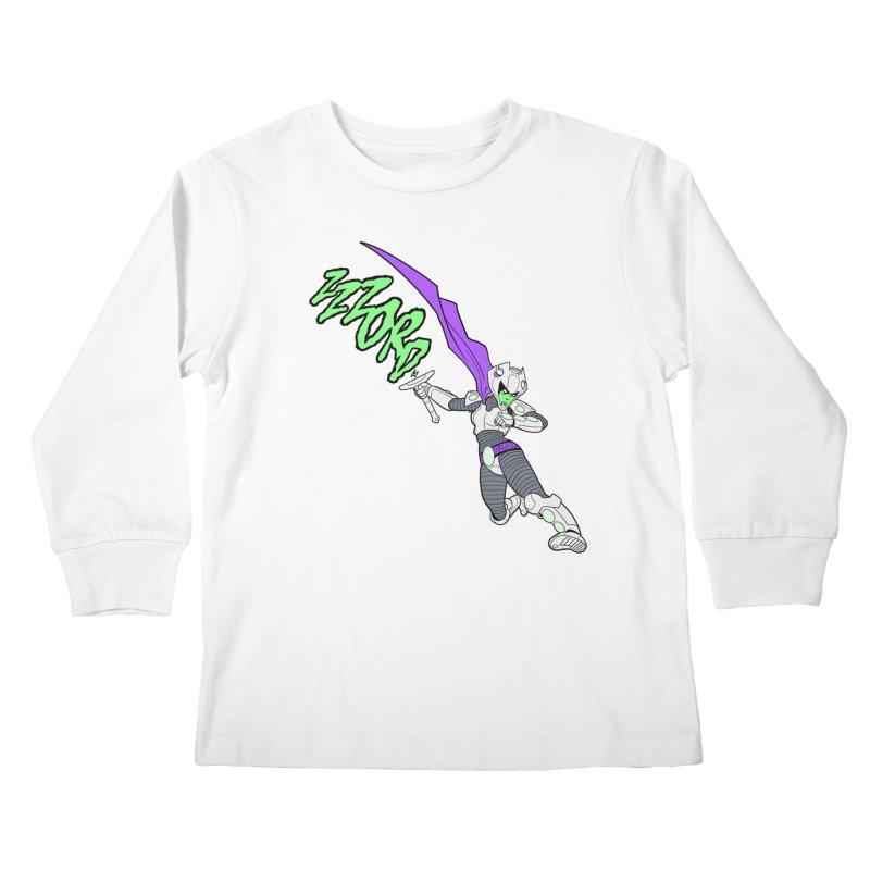 Shirt of the Month April Kids Longsleeve T-Shirt by edisonrex's Artist Shop