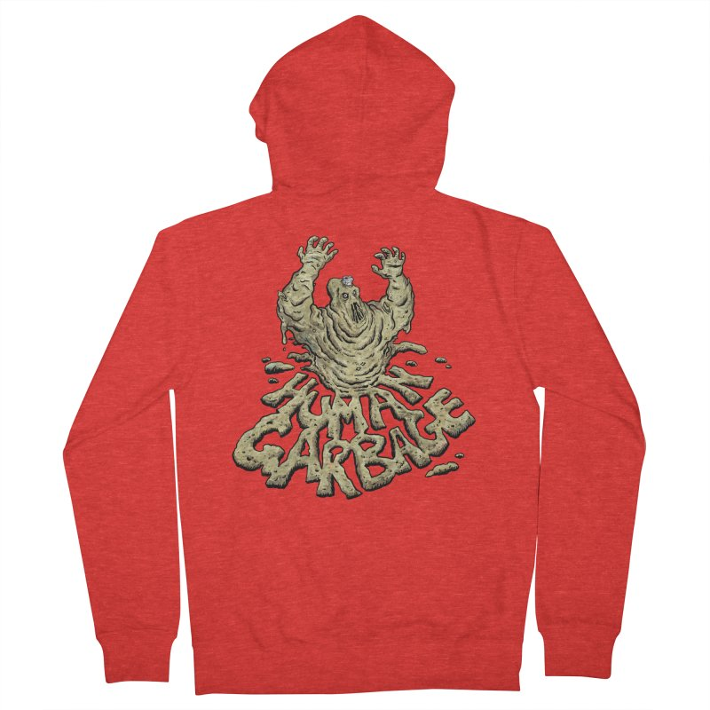 Shirt of the month May 2017: Human Garbage Women's Zip-Up Hoody by Edison Rex