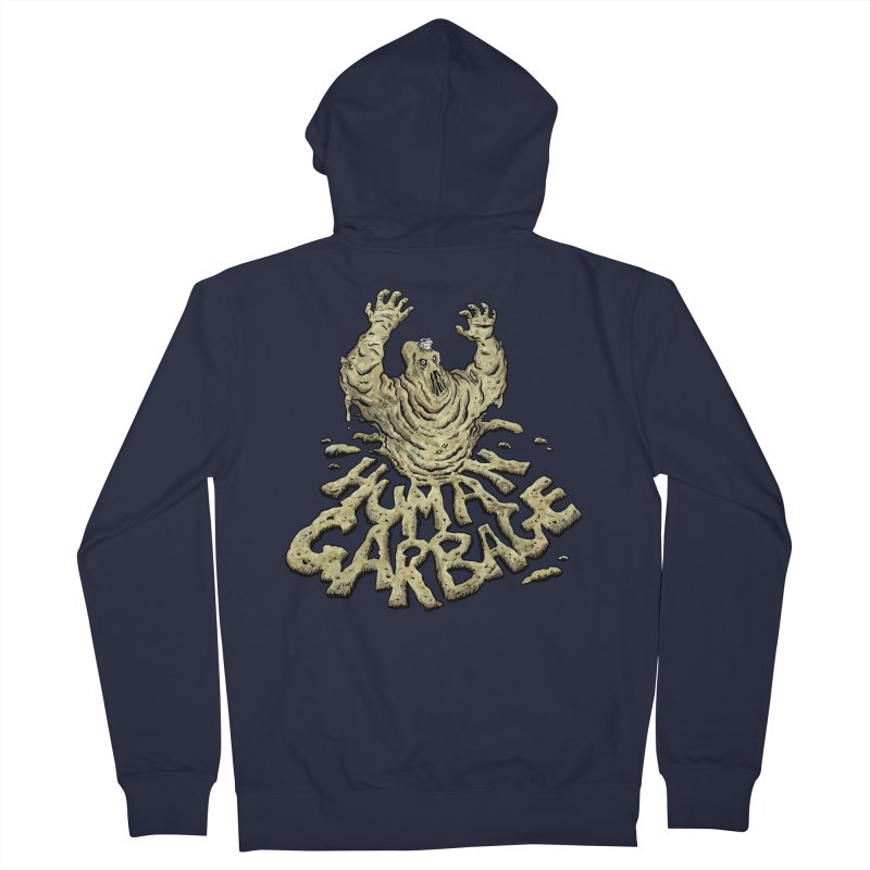 Shirt of the month May 2017: Human Garbage Women's French Terry Zip-Up Hoody by Edison Rex