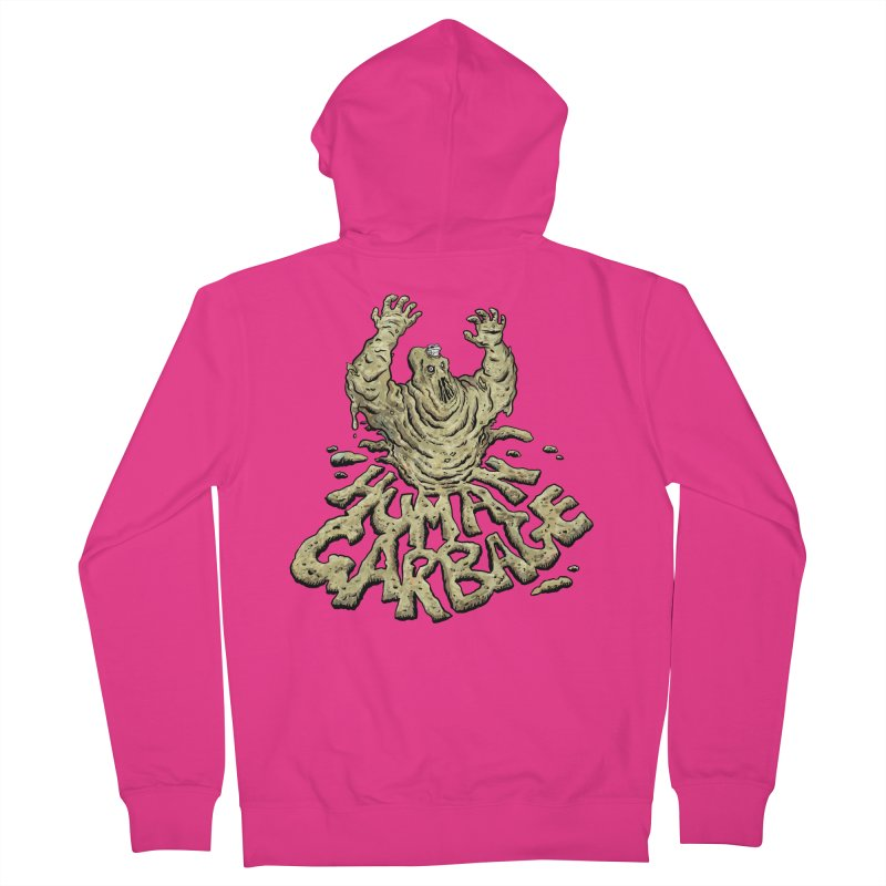 Shirt of the month May 2017: Human Garbage Men's French Terry Zip-Up Hoody by Edison Rex