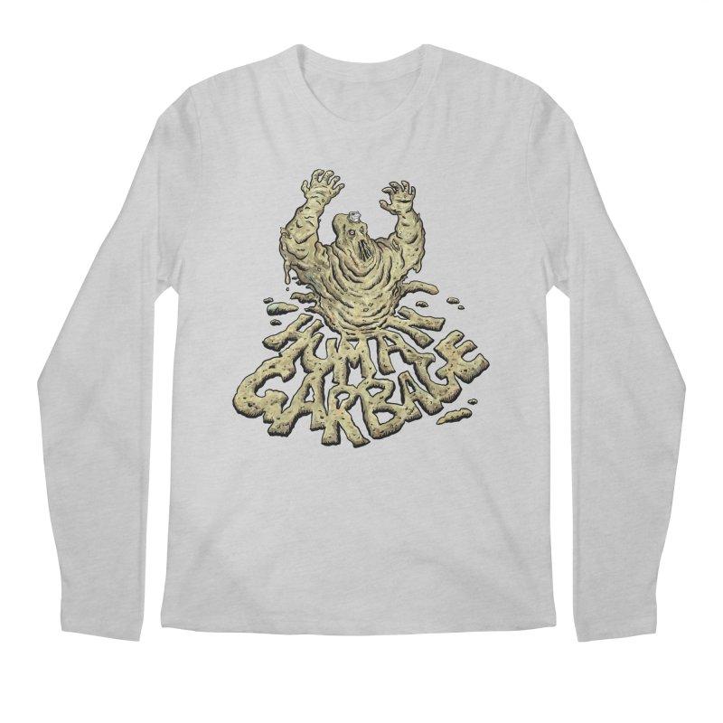 Shirt of the month May 2017: Human Garbage Men's Longsleeve T-Shirt by edisonrex's Artist Shop