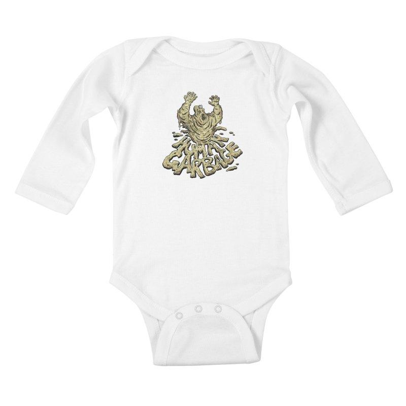 Shirt of the month May 2017: Human Garbage Kids Baby Longsleeve Bodysuit by edisonrex's Artist Shop