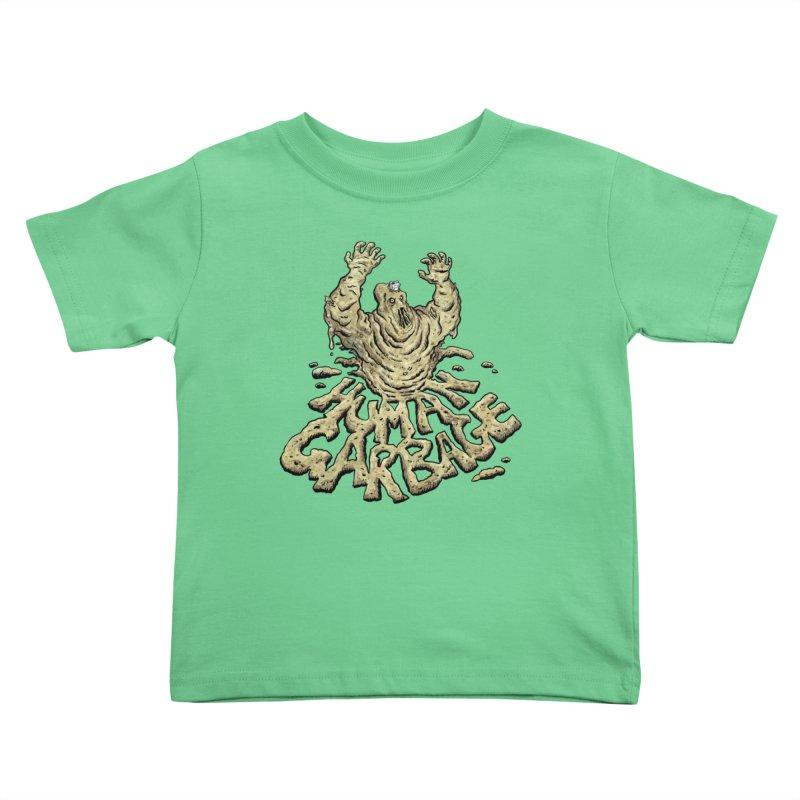 Shirt of the month May 2017: Human Garbage Kids Toddler T-Shirt by edisonrex's Artist Shop
