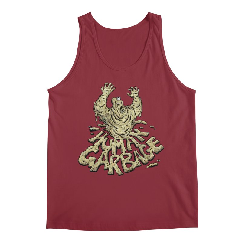 Shirt of the month May 2017: Human Garbage Men's Regular Tank by Edison Rex