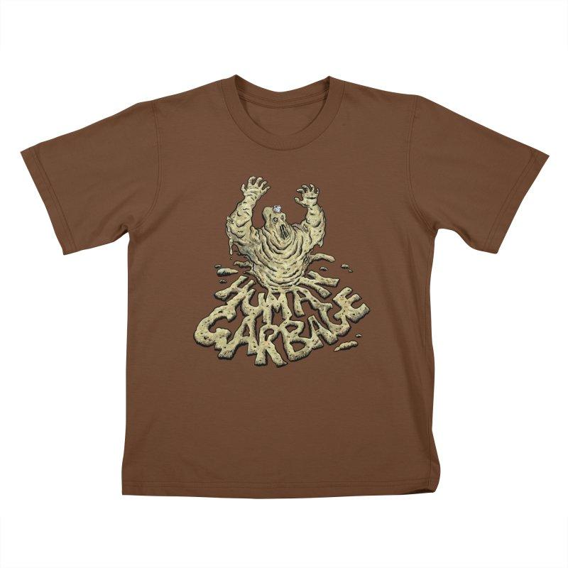 Shirt of the month May 2017: Human Garbage Kids T-Shirt by Edison Rex