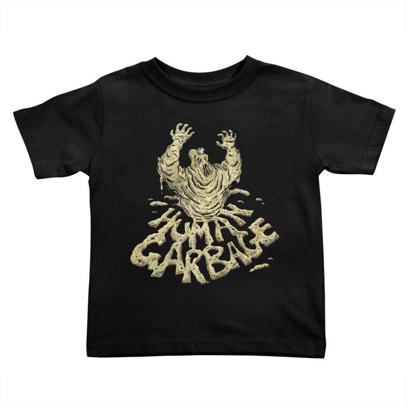 Shirt of the month May 2017: Human Garbage Kids Toddler T-Shirt by Edison Rex