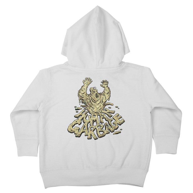 Shirt of the month May 2017: Human Garbage Kids Toddler Zip-Up Hoody by edisonrex's Artist Shop