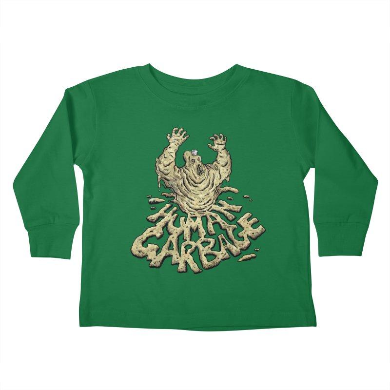 Shirt of the month May 2017: Human Garbage Kids Toddler Longsleeve T-Shirt by Edison Rex