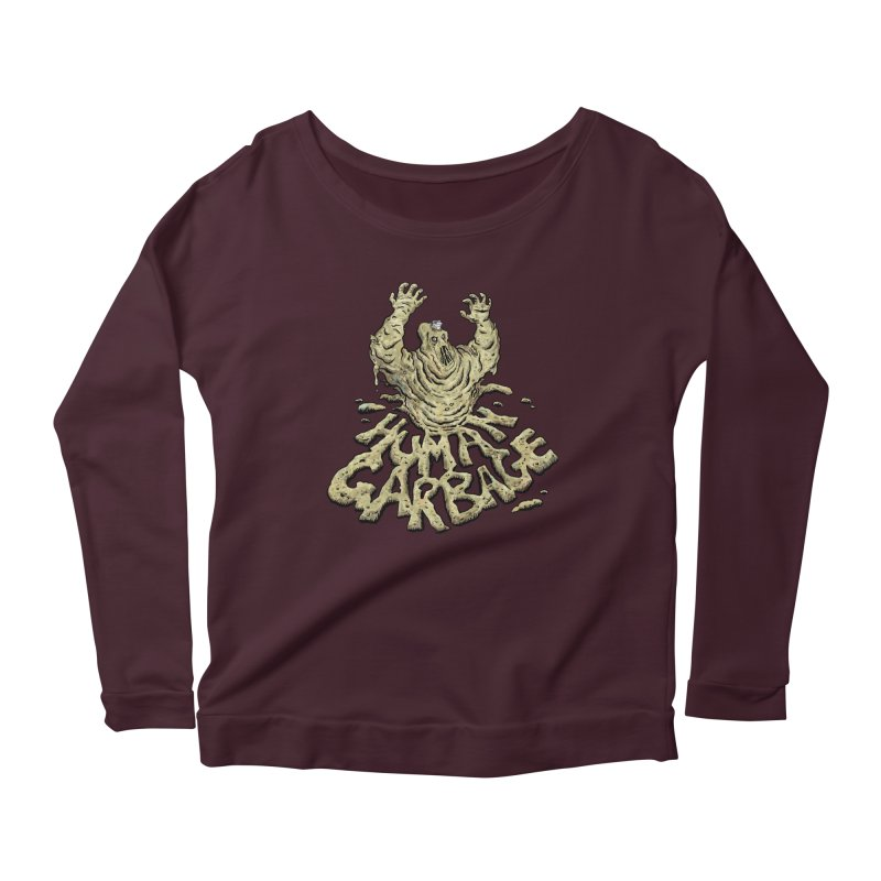 Shirt of the month May 2017: Human Garbage Women's Scoop Neck Longsleeve T-Shirt by Edison Rex