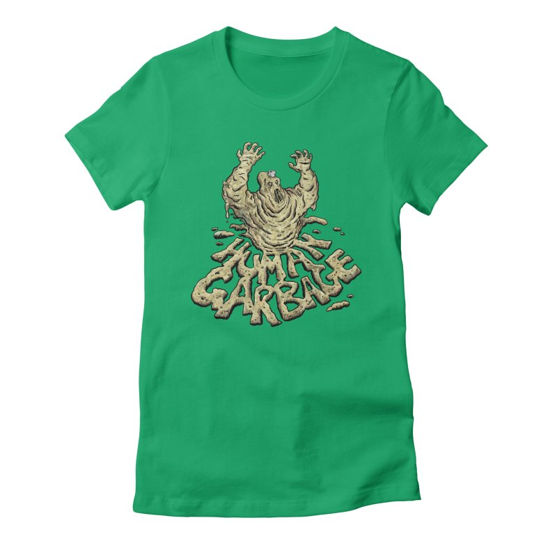 Shirt of the month May 2017: Human Garbage Women's  by edisonrex's Artist Shop
