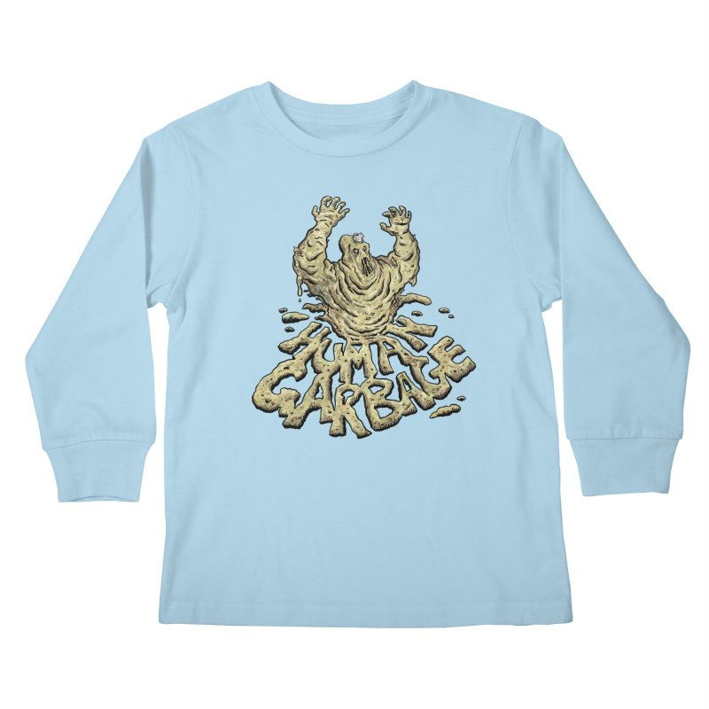 Shirt of the month May 2017: Human Garbage Kids Longsleeve T-Shirt by edisonrex's Artist Shop