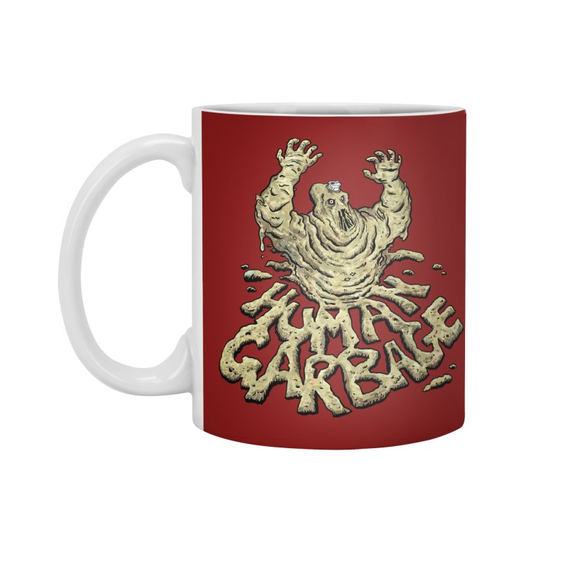 Shirt of the month May 2017: Human Garbage Accessories Standard Mug by Edison Rex