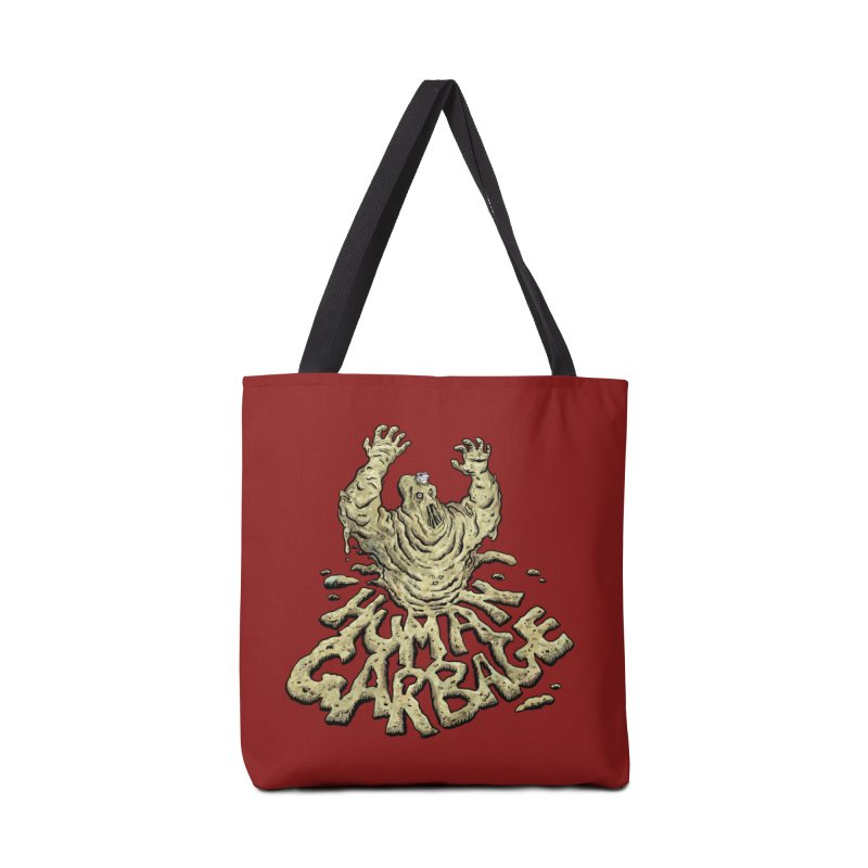 Shirt of the month May 2017: Human Garbage Accessories Bag by edisonrex's Artist Shop