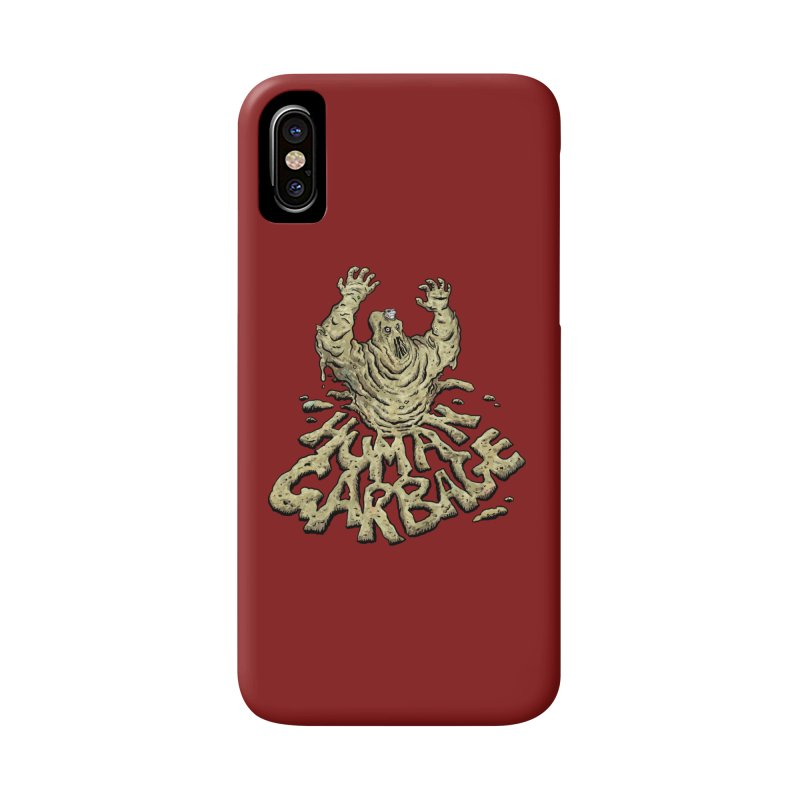 Shirt of the month May 2017: Human Garbage Accessories Phone Case by Edison Rex