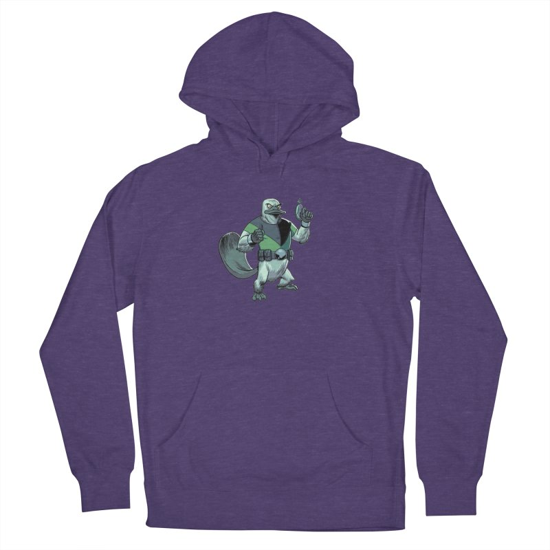 Shirt of the Month June 2017: Platypus Rex Women's French Terry Pullover Hoody by edisonrex's Artist Shop