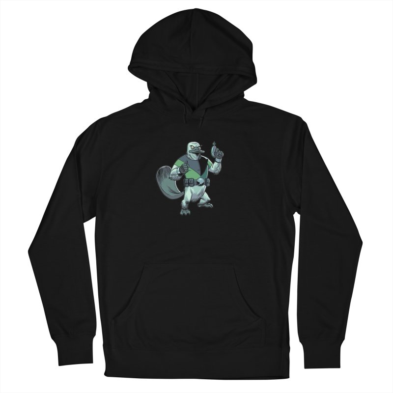 Shirt of the Month June 2017: Platypus Rex Women's Pullover Hoody by edisonrex's Artist Shop