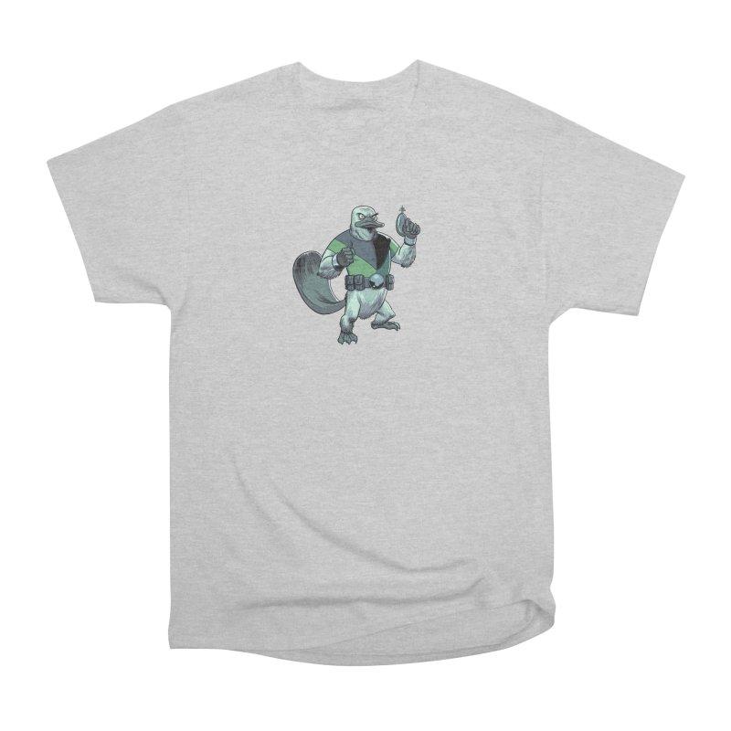 Shirt of the Month June 2017: Platypus Rex Women's Heavyweight Unisex T-Shirt by Edison Rex
