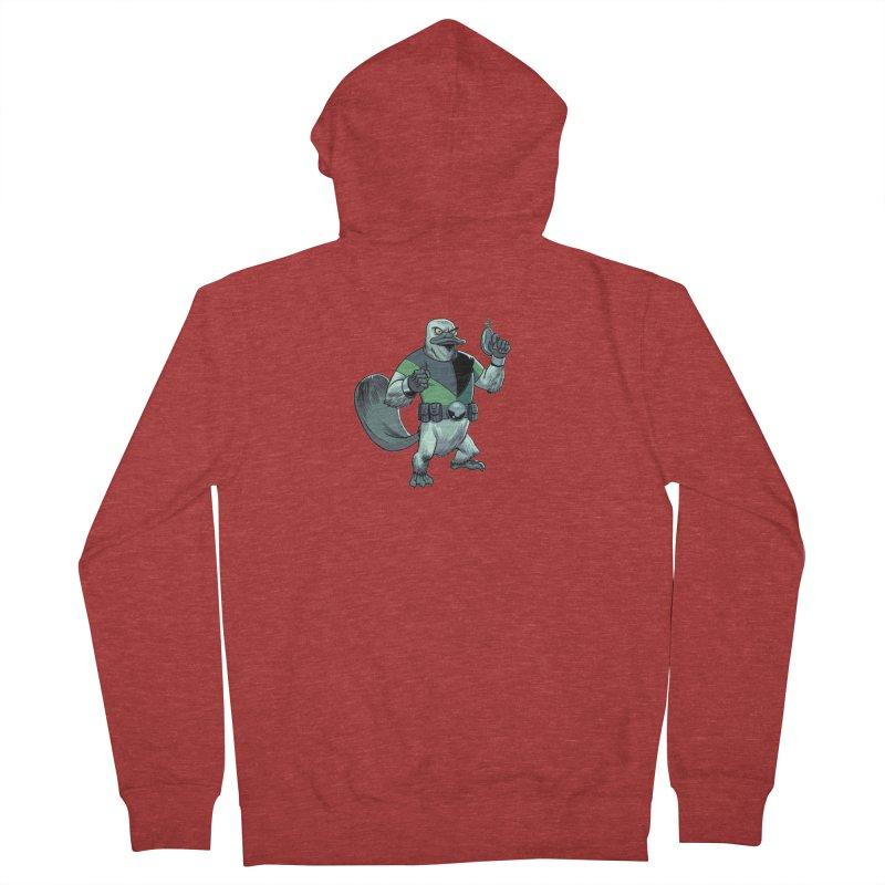 Shirt of the Month June 2017: Platypus Rex Women's Zip-Up Hoody by edisonrex's Artist Shop